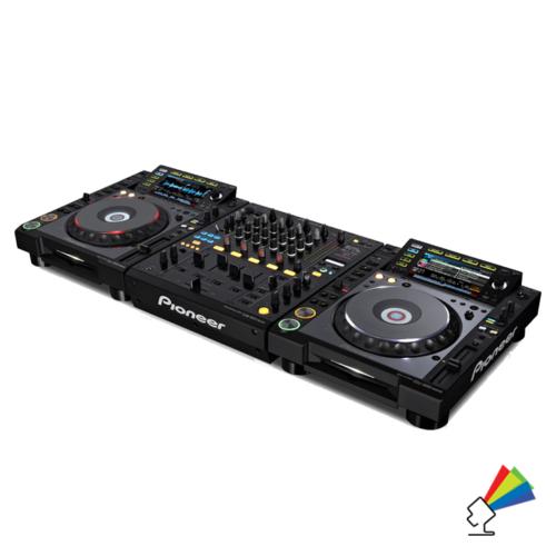 Udlejning af Pioneer CDJ2000 DJ Pult