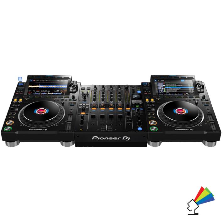 Udlejning af Pioneer CDJ3000 DJ Pult