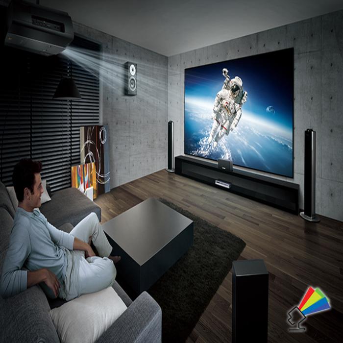 Udlejning af projektor til store arrangementer