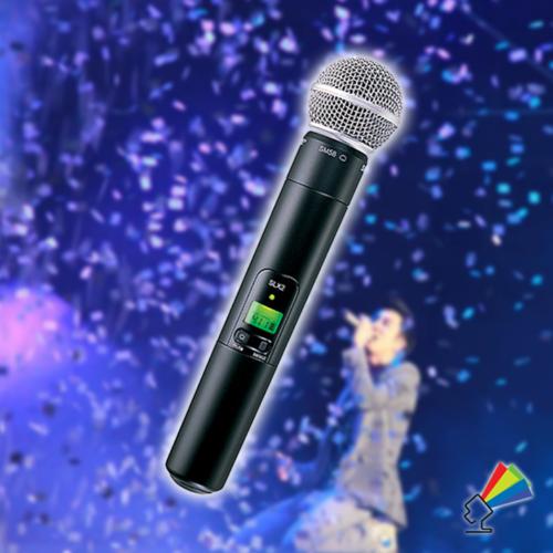 Udlejning af Trådløs Mikrofon